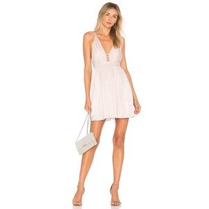 Free People Gabby's Party All Night Dress Neutral